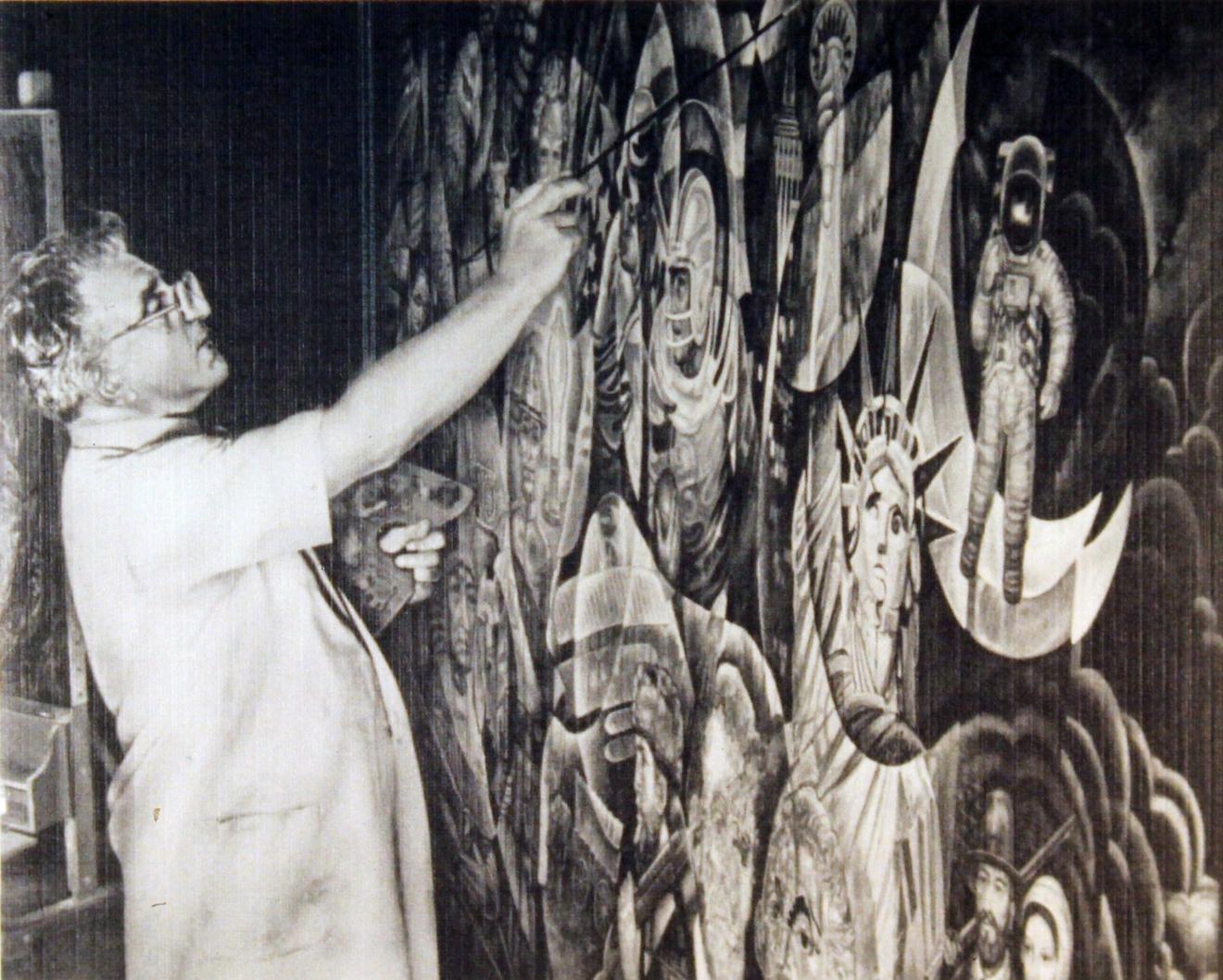 101. John Painting America